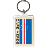 Cape Verde Acrylic Key Holders