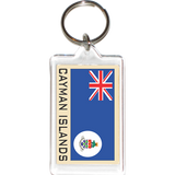 Cayman Islands Acrylic Key Holders