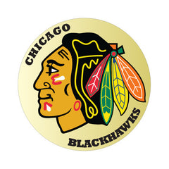 Chicago Blackhawks NHL Round Decal