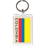 Colombia Acrylic Key Holders