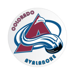 Colorado Avalanche NHL Round Decal