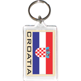 Croatia Acrylic Key Holders