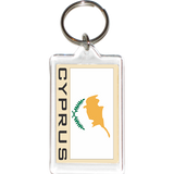 Cyprus Acrylic Key Holders