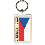 Czech Republic Acrylic Key Holders