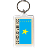 Demoractic Republic of Congo Acrylic Key Holders