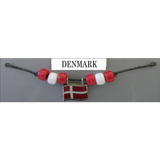 Denmark Fan Choker Necklace