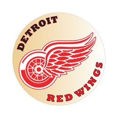 Detroit Red Wings NHL Round Decal