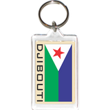 Djibouti Acrylic Key Holders