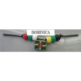 Dominica Fan Choker Necklace