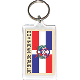 Dominican Republic Acrylic Key Holders