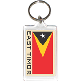 East Timor Acrylic Key Holders