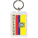 Ecuador Acrylic Key Holders