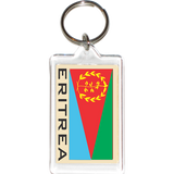 Eritrea Acrylic Key Holders