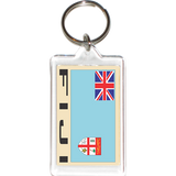 Fiji Acrylic Key Holders