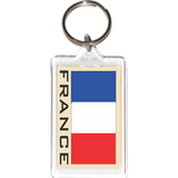 France Acrylic Key Holders