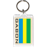 Gabon Acrylic Key Holders