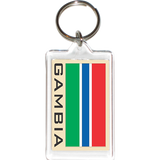 Gambia Acrylic Key Holders