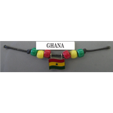 Ghana Fan Choker Necklace