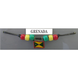 Grenada Fan Choker Necklace