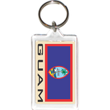 Guam Acrylic Key Holders