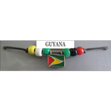 Guyana Fan Choker Necklace