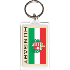 Hungary Acrylic Key Holders