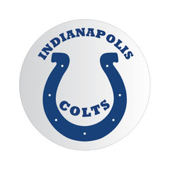 Indiana Colts NFL Round Decal
