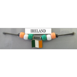 Ireland Fan Choker Necklace