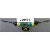Jamaica Fan Choker Necklace