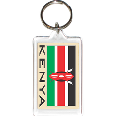 Kenya Acrylic Key Holders