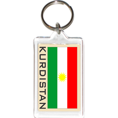 Kurdistan Acrylic Key Holders