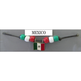 Mexico Fan Choker Necklace