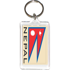 Nepal Acrylic Key Holders