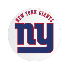 New York Giants NFL Round Decal