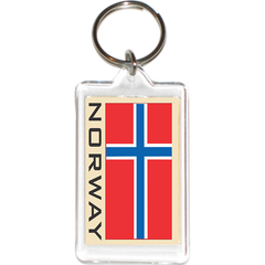 Norway Acrylic Key Holders