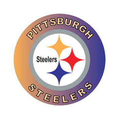 Pittsburgh Steelers NFL Round Decal