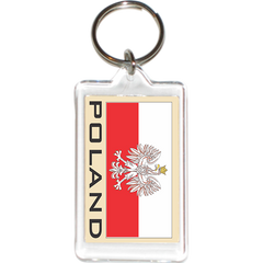 Poland Acrylic Key Holders