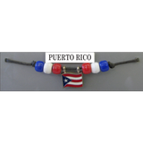 Puerto Rico Fan Choker Necklace