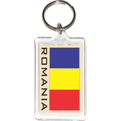 Romania Acrylic Key Holders