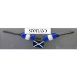 Scotland Fan Choker Necklace