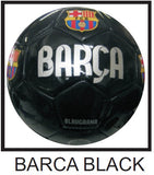 Barca Black Soccer Ball No. 5