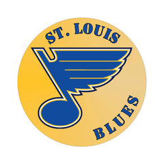 St. Louis Blues NHL Round Decal