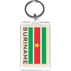 Suriname Acrylic Key Holders