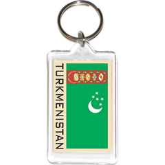 Turkmenistan Acrylic Key Holders