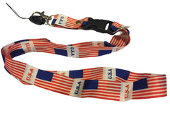USA Flags Lanyard