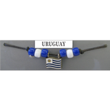 Uruguay Fan Choker Necklace