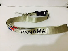 Panama Flags Lanyard