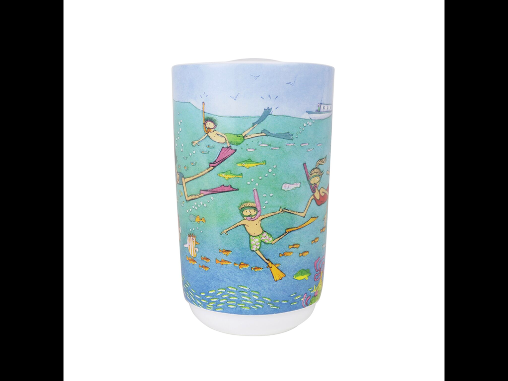 Robert Gordon Are We There Yet? Tiny Blue Angels Travel Mug
