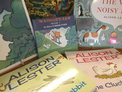 The Alison Lester Album plus all 7 books