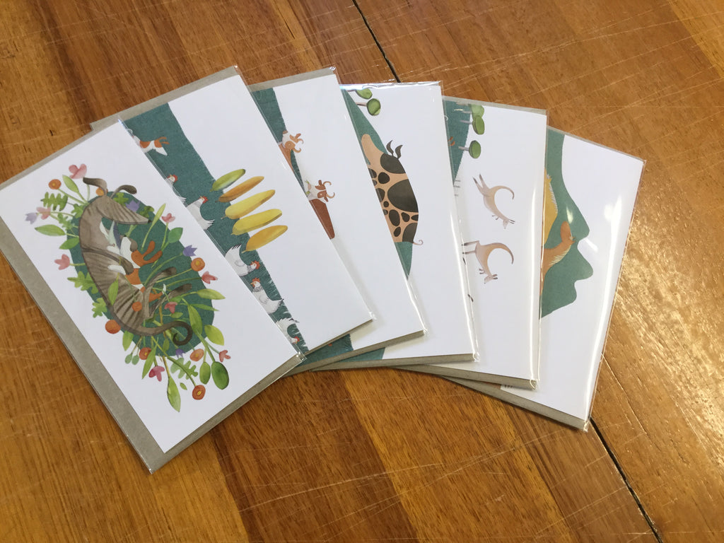 Set of 6 My Dog Bigsy Cards